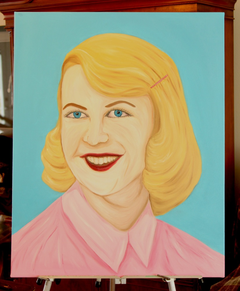 Sylvia Plath Paintings