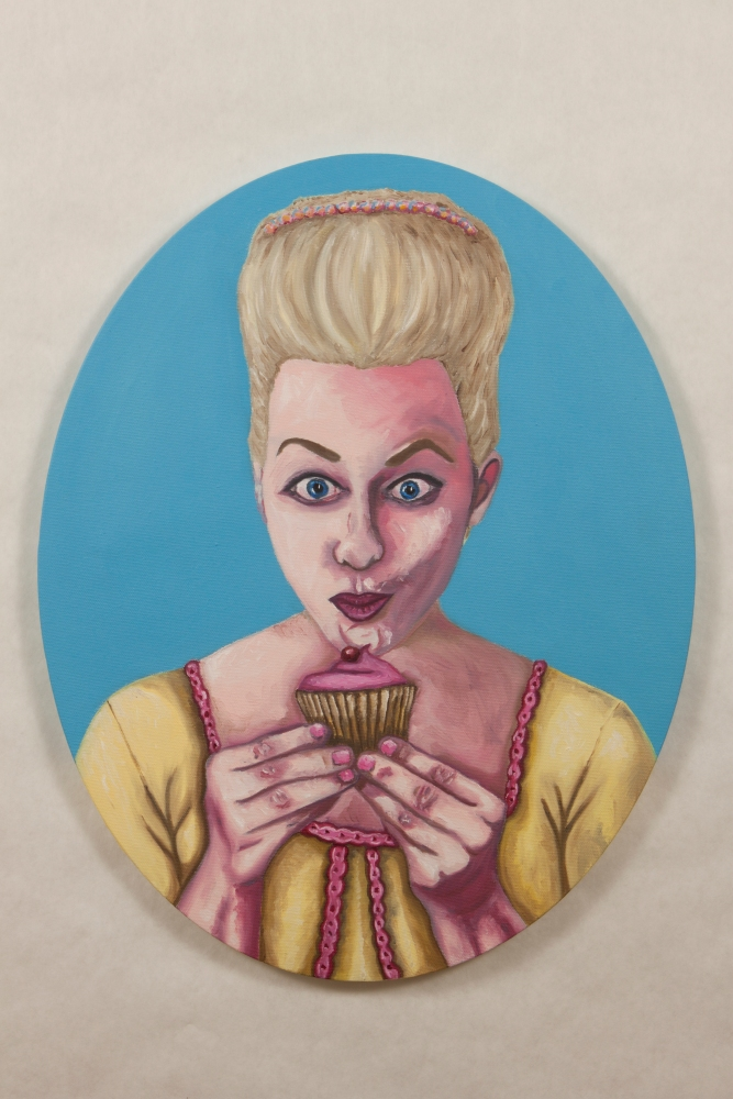 Final Images of the Marie Antoinette Paintings (3/6)