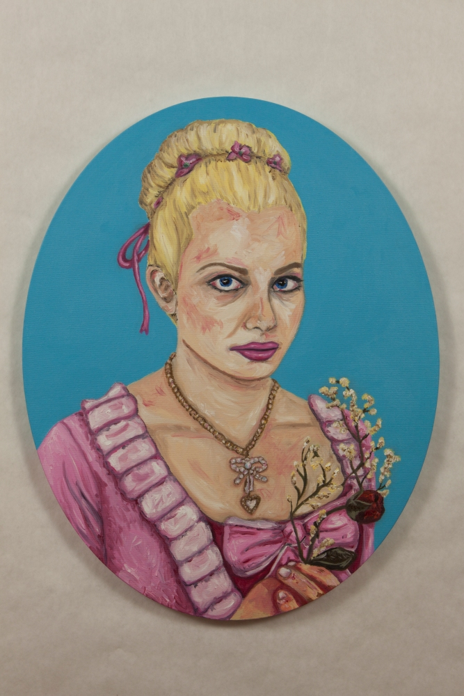 Final Images of the Marie Antoinette Paintings (1/6)